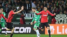 Trotz Bremens neuer Offensivpower: Frankfurt kontert Werder aus