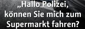 """""""Schwiegertochter will mein Erbe"""": Polizei twittert nervige Nonsens-Notrufe"""