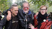 S21-Demonstrant verlor Augenlicht: Polizei bietet 120.000 Euro Schmerzensgeld