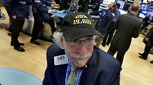 Die Kopfbedeckung sind bereit: Die Kursmarke von 19.000 Punkten ist für Dow-Anleger in Reichweite.