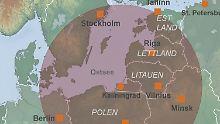 Drohgebärde in der Ostsee?: Russland stationiert Anti-Schiffsraketen