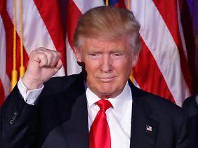 Donald Trumps Wahlsieg hatten nur wenige Demoskopen vorhergesehen.