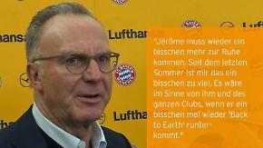 Champions League, 5. Spieltag: Bayern sind mürrisch, Gladbacher bescheiden