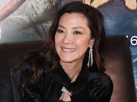 """Sie geht bei """"Star Trek"""" an Bord: Michelle Yeoh."""