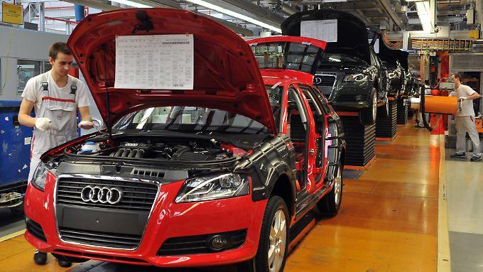 Die Zeiten der Montagebändern sind bei Audi passé.