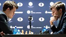 Schach-WM geht in Partie zwölf: Carlsen und Karjakin vereinbaren Showdown