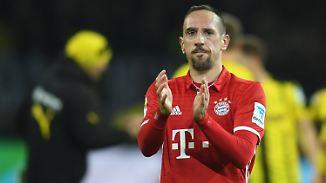 Folgen Robben und Lewandowski?: Ribéry bleibt bis 2018 beim FC Bayern