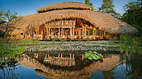Ein Fünf-Sterne-Veggie-Hotel auf Bali.