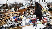 Fünf Tote und große Verwüstung: Tornadoserie fegt durch US-Südstaaten