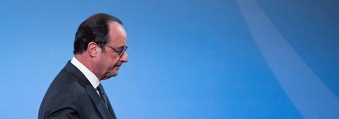 Francois Hollande tritt im nächsten Jahr ab.