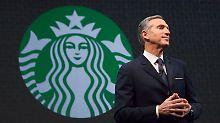 Howard Schultz arbeitet seit 34 Jahren an Starbucks' Aufstieg.