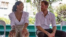 Mit Sex-Fragen gelöchert: Harry und Rihanna lassen sich stechen