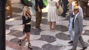 Promi-News des Tages: Shakira verdreht Männern in Barcelona den Kopf