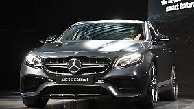 Stärkste E-Klasse aller Zeiten: Mercedes AMG E63 - Luxuslimousine mit Renn-Genen