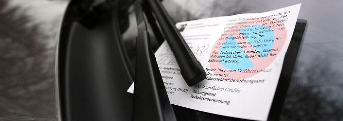 """Gericht sieht """"charakterliche Mängel"""": Zu oft Falschparken kostet den Führerschein"""