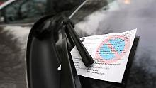 Statt regelmäßigem Parkticket: Ab und an ein Knöllchen?