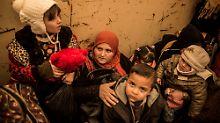 Kein Strom und Wasser - kaum Essen: Mossuls Bewohnern droht Hungersnot