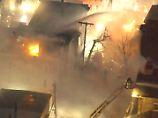 Großbrand in US-Vorort Cambridge: Feuerwalze erfasst mehrere Gebäude
