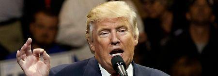 Donald Trump sorgt bereits jetzt für eine Belastung in den amerikanisch-chinesischen Beziehungen.