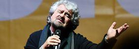 Regierungskrise in Italien: Schlägt jetzt die Stunde von Beppe Grillo?