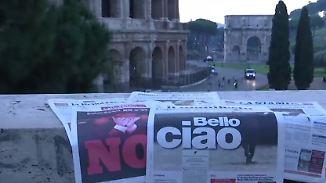 "Merkel bleibt optimistisch: Italien sagt ""No"", Renzi tritt zurück"