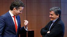 Baldiges Ende des Schuldenstreits: Eurogruppe sendet positive Signale an Athen