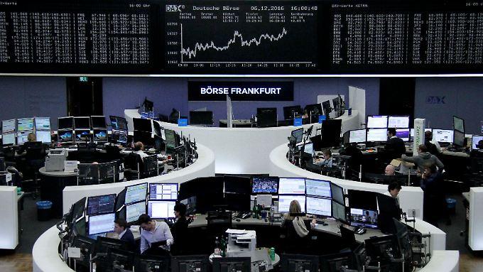 """Der Dax am Nikolaus-Tag: Spätestens am Donnerstag steht für die Märkte """"neuer Treibstoff"""" an."""