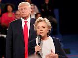 "Der Tag: Trump bescherte Hillary Clinton ""Gänsehaut"""