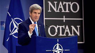Krieg in Syrien: Kerry: Russland soll Assad zu Gesprächen bewegen
