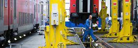 Manager erhalten Spar-Schulung: Bahn will bei Werken und Reparaturen sparen