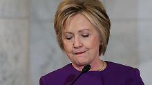 """Schießerei wegen Verschwörungstheorie: Clinton warnt vor """"Fake News""""-Epidemie"""