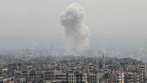 Trotz angekündigter Feuerpause: Kämpfe in Syrien gehen unvermindert weiter