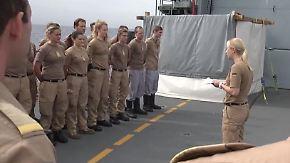 Einsatz vor der Küste Libyens: Deutsche Marine kämpft gegen Schleuser und Schmuggler