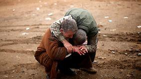 Zivilisten leiden unter Häuserkampf: Kampf um Mossul tobt weiter