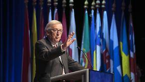 Politische Konsequenzen nach Anschlag: Juncker lehnt Richtungswechsel in Flüchtlingspolitik ab