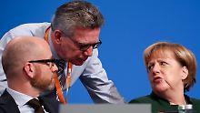 Streit in der CDU: Mit oder gegen Merkel?