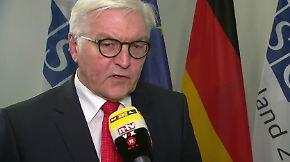 """Frank-Walter Steinmeier im n-tv Interview: """"Können mit diesem Jahr zufrieden sein"""""""