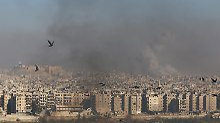 Die Hoffnung auf eine Feuerpause währte nur kurz: In Aleppo wird wieder gekämpft.