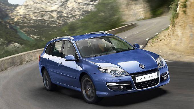 Führt in der Mittelklasse eher ein Schattendasein: Mit dem überarbeiteten Laguna nimmt Renault einen neuen Anlauf.