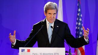 Kerry wirft Assad Kriegsverbrechen vor: UNO fordert sofortige Waffenruhe in Syrien