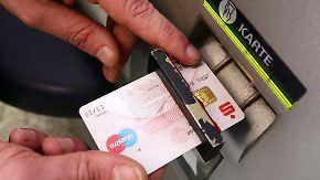 Weniger Schaden: Datenklau an Geldautomaten nimmt zu