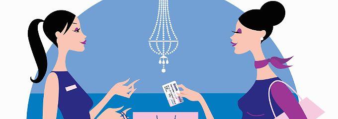 Kreditkarten-Umsätze werden gesammelt und meist nur einmal im Monat abgebucht.