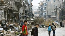 """Nach dem Fall von Aleppo: """"Die Syrer wollen ein Ende der Kämpfe"""""""