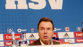 """Bruchhagen zum HSV: """"Die sportliche Situation ist ausgesprochen prekär"""""""