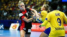 Sieg gegen Schweden reicht nicht: Handballerinnen verpassen EM-Halbfinale