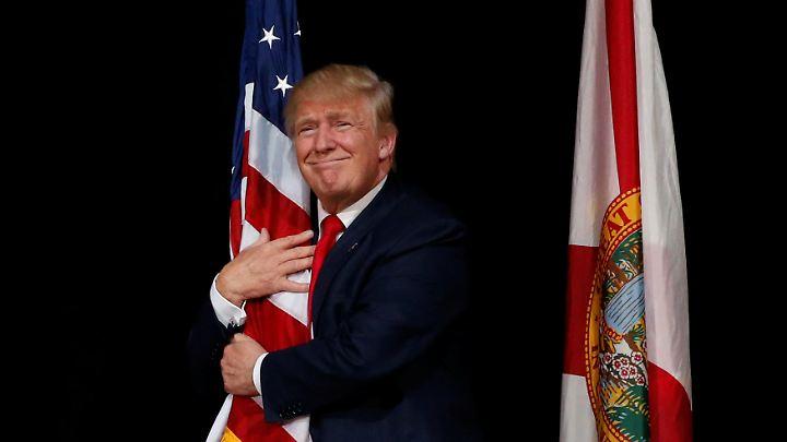 Dank gewonnener US-Wahl kann Donald Trump einen Sprung von Platz 72 in 2015 auf Platz 2 des Rankings verbuchen.