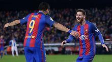 Letztes Punktspiel 2016: FC Barcelona entscheidet Derby klar für sich