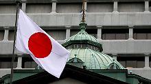 Die Bank of Japan registriert für den November eine Verbesserung der wirtschaftlichen Lage.