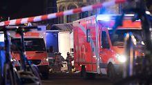 Opfer des Anschlags in Berlin: Kliniken behandeln vierzehn Schwerverletzte