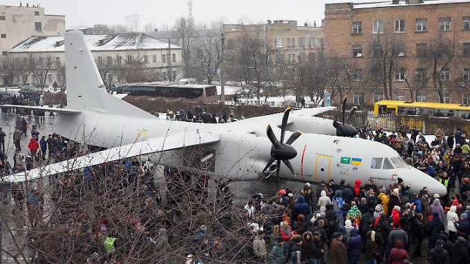 Die neue Antonow.